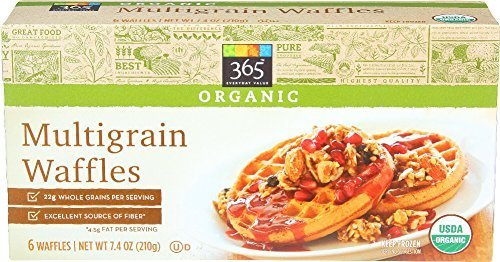 Whole Foods 365 Everyday Value Organic Multigrain Waffles