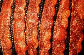 bacon made from turkey meat